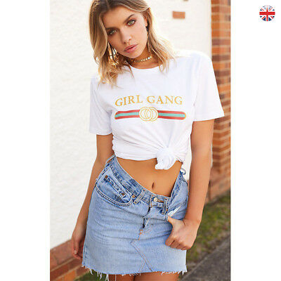 New Fashion Womens Ladies Summer Loose Tops Cotton Short Sleeve Blouse T Shirt