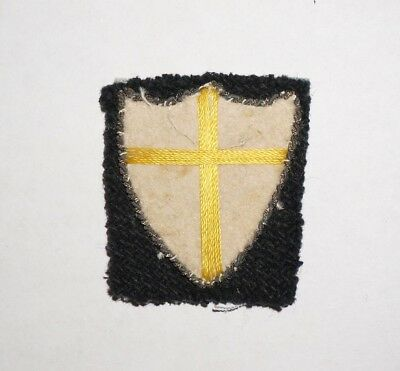 British 8th Army Italian Theater Made Patch Formation Sign WWII UK P4872