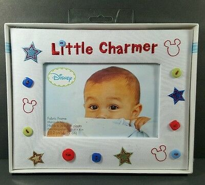 Gibson Disney Little Charmer Fabric Photo Frame