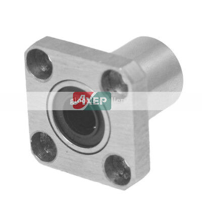 LM8 8mm Inner Diameter Square Flanged Linear Bearing