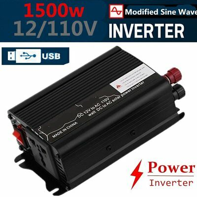 Peak Power 6000W DC 12V AC 110V Car Converter Power Inverter Electronic P9