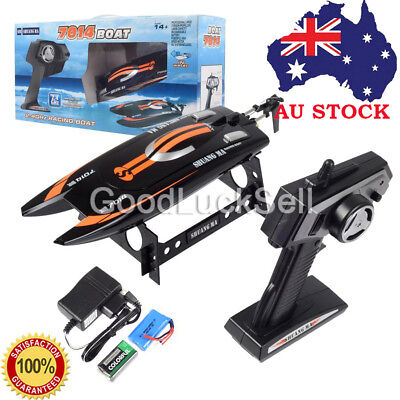 High Speed 2.4G RC 3CH RTF Boat Electric Remote Controller Boat Water Cooling AU