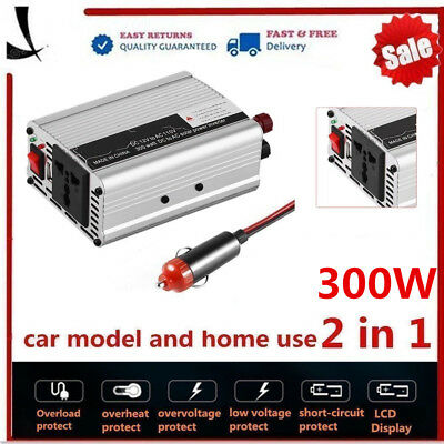 2000W Peak Solar Power Inverter 12V DC To 110V AC Modified Sine Wave O9