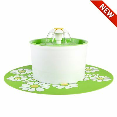 Automatic Electric 1.6L Pet Water Fountain Cat Dog Kitten Drinking Bowl Filter