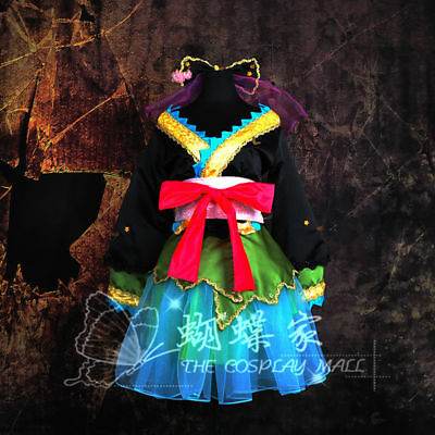 Vocaloid 2 Miku PROJECT DIVA Cosplay Kostüm Abend-Kleid dress lolita Damen M