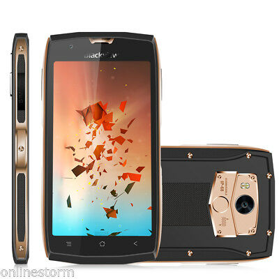 """Impermeabile 16GB 5"""" Blackview BV7000 4G Smartphone Android7.0 4*Core Cellulare"""