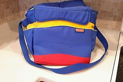 Fisher Price Travel Toy Tote & Storage Bag, used