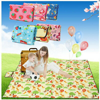 Waterproof Large Picnic Blanket Mat Rug for Outdoor Beach Travel Camping AU