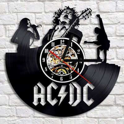 Ac Dc Figure T Black Rock New Acdc Band Angus Young Back in Black Music Edition