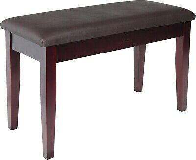 Hadley HDS500 Duet Double Piano Stool in Mahogany, with Book Storage, 1/2 Price!