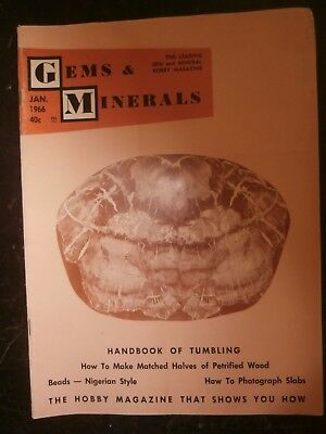 GEMS & MINERALS January 1966