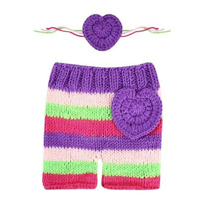 Cute Baby Girl Boy Newborn Knit Crochet Photography Clothes Photo Prop Outfits