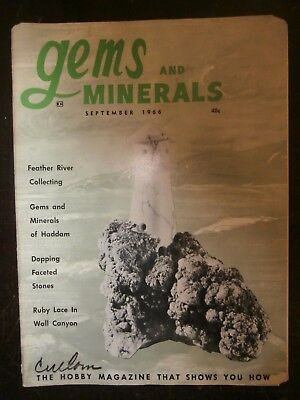 GEMS & MINERALS September 1966