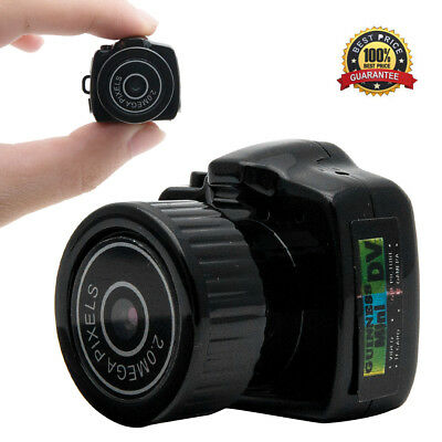 Smallest Mini Caméra Caméscope Camcorder Photo Vidéo Recorder DVR Espion Webcam