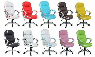 New Luxury Designer High Quality Office Computer Pu Leather Chair K8363