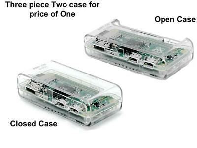 SB High Quality Raspberry Pi Zero Case - Clear/Transparent **ACCESS to all Ports