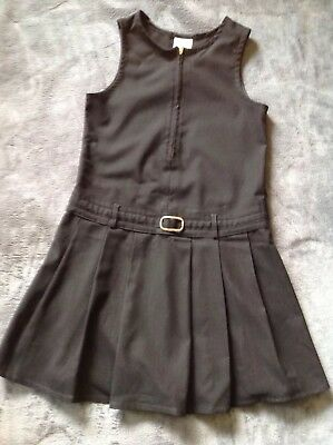 John Lewis School Dress Black 7-8