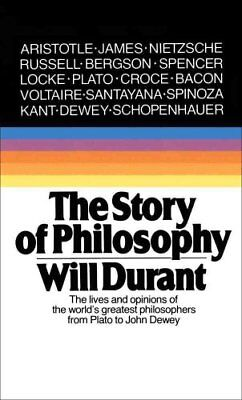 The Story Of Philosophy by Durant 9780671739164 (Paperback, 1991)