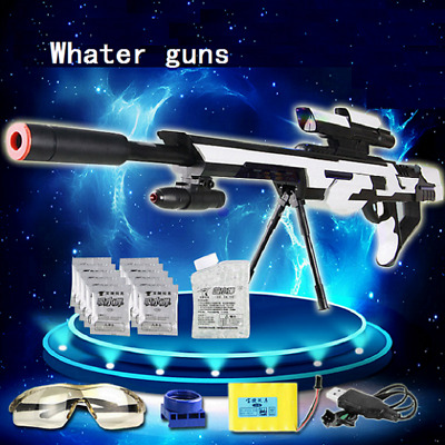 Firewire elite Crystal Gel Bullet Sniper Water Gun Toy Shooter Fast 1000+ Bullet