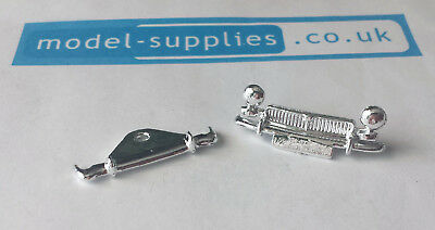 Spot On 281 MG Midget Mk II Reproduction Chromed Front Grille Rear Bumper