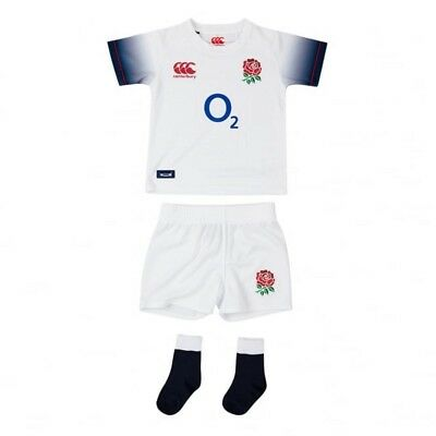Canterbury England Rugby Infant Kit Pack 2017-18 - NEW - *6 Months - 4 Years*