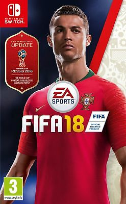 FIFA 18 Inc FIFA 18 World Cup Russia Upgrade (Nintendo Switch) New & Sealed