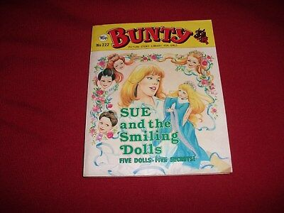 BUNTY  PICTURE STORY LIBRARY BOOK from the 1980's: never been read.vg condit.