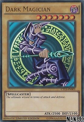 Yugioh - 1x Dark Magician CT13-EN003 Ultra Rare - Limited Ed - NM/M
