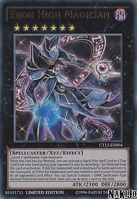 Yugioh - 1x Ebon High Magician CT13-EN004 Ultra Rare - Limited Ed - NM/M