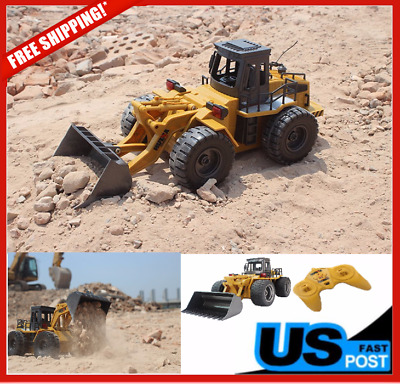 Electric RC Construction Bulldozer Truck Tractor Digger Radio Remote Control Toy