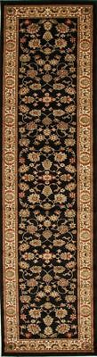 New Hallway Runner Hall Runner Traditional Persian Black 3 Meters