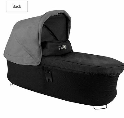 Mountain buggy duet carrycot plus with Rain Cover & Adapters