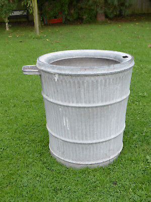 Dolly/Peggy Tub-  Vintage Orig British not Repro. Ideal Planter. Anti Splash.