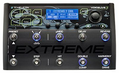 TC-Helicon*VoiceLive 3 Extreme*Guitar/Vocal Effects Processor+Looper FREEUPS NEW