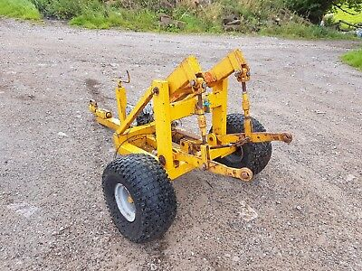 quad mule tractor 3 point linkage delivery available