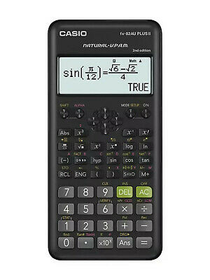 Casio FX82AU PLUS II Scientific Calculator - New Model Approved Board of Studies