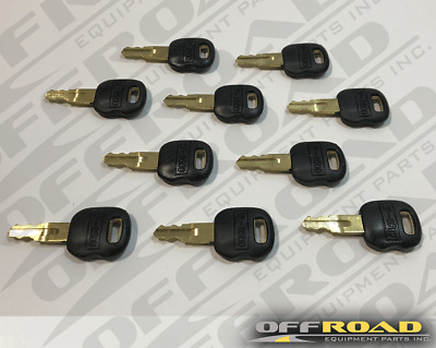 Lot  of (10) 5P8500, 5P-8500  New Aftermarket Keys for Caterpillar Applications