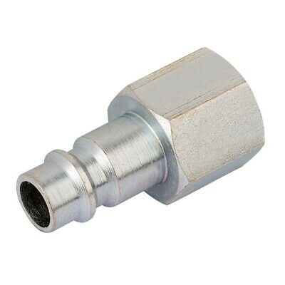 "Draper 54419 1/4"" BSP Female Nut PCL Euro Coupling Adaptor"