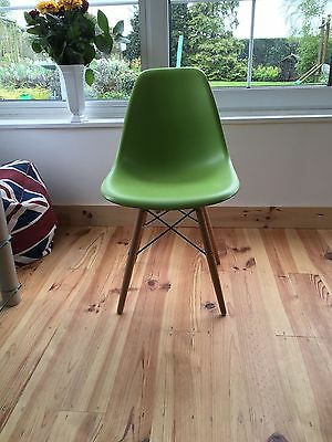 Retro Mid-century Eams style moulded plastic dining chair (Bolero) 3 available