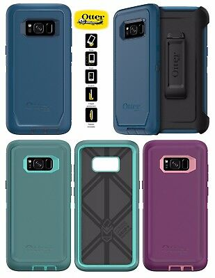 Samsung Galaxy S8 Otterbox Defender Case Cover Shockproof Series Rugged Holster