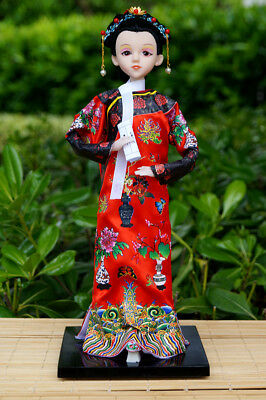 Handmade Asian Chinese Ancient Doll Lady Figurine Beauty Girl Figurine Doll