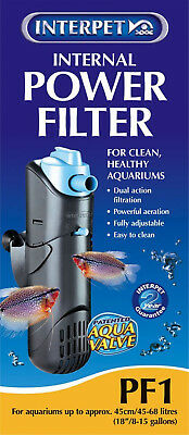 Internal Aquarium Power Filter For Fish Tanks PF1