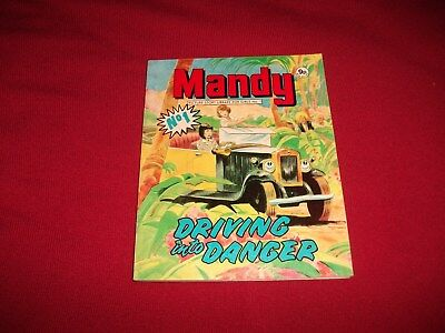 First Ever No 1 MANDY  PICTURE STORY LIBRARY BOOK from 1970's: never been read
