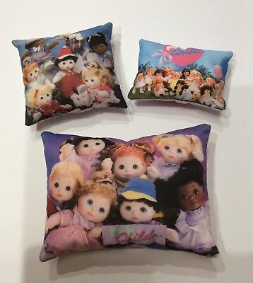 My Child Doll Reproduction Picture Cushions (set of 3)