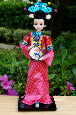 Handmade Asian Ancient Chinese Classic Ancient Doll Girl Figurine Artwork Decor