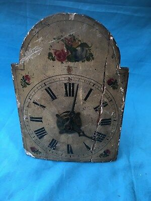 Old Small  Black Forest Clock For Rstoration  # 28