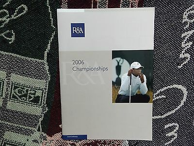 R&a 2006 Championships Guide - 32 Pages
