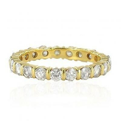 Ring Alliance diamonds golden yellow Ring