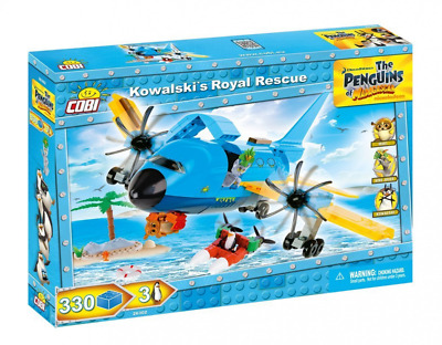 Kowalskis Royal Rescue Building Set
