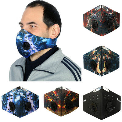 Unisex - Altitude Hypoxia Training Mask Oxygen Controlled Masochist With Filter